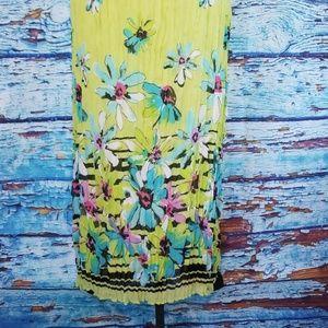 Aeropostale Dresses - NWOT Aeropostale Bright Green Floral Maxi
